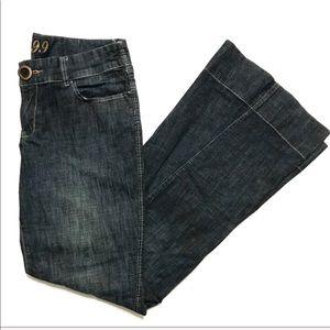 Anthro Level 99 Flare Wide Leg Bell Bottom Jeans